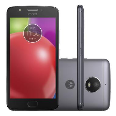 Celular Smartphone Motorola Moto E4 Xt1763 16gb Titânio - Dual Chip