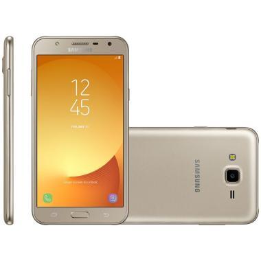 Celular Smartphone Samsung Galaxy J7 Neo J701 16gb Dourado - Dual Chip