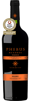 Phebus Mendoza Reserva Malbec Limited Edition 2017