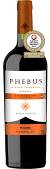 Phebus Patagonia Reserva Malbec Limited Edition 2017